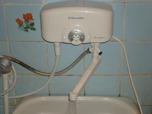 Проточные водонагреватели для дома