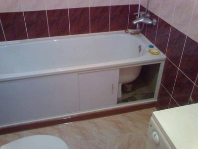 Экраны для ванной типы устройства раздвижных и цельных конструкций