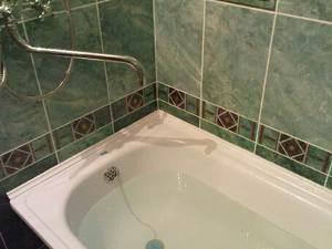 Бортик для ванной керамический