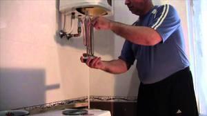 Установка и подключение водонагревателя
