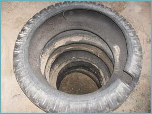 Как сделать выгребную яму из автомобильных покрышек