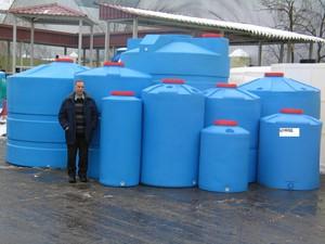 Пластиковые канализационные емкости
