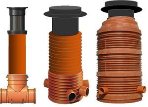 Система канализации из пластиковых труб