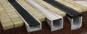 Ливневая канализация из бетона - как она выглядит?