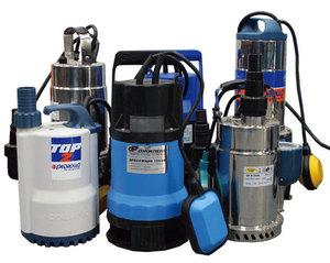Разнообразные погружные насосы помогут решить проблему полива.