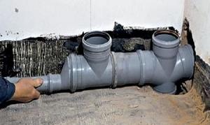 Устройство наружной канализации технология