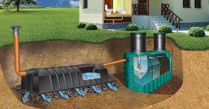 Обустройство канализации частного дома
