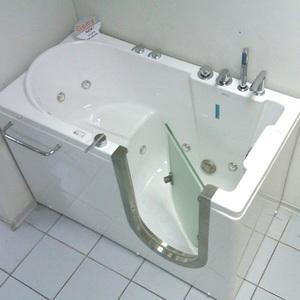 фото сидячая ванна