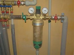 Фильтр перед счетчиком воды