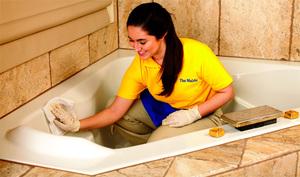 Способы и средства для отбеливания акриловой ванны