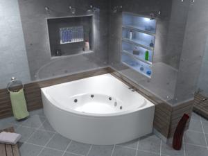 ванны угловые размеры фото цены