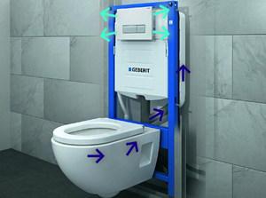 фото инсталляция туалет