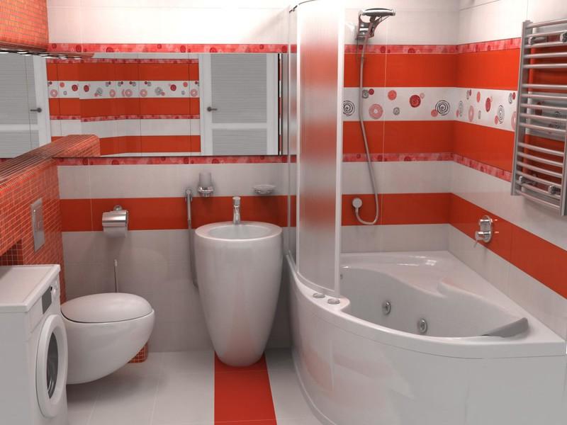 Дизайн ванных комнат размером 170 на 150