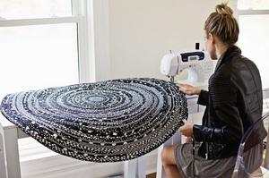 Советы специалистов как сделать своими руками коврик в ванную комнату