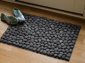 Инструкция для изготовления коврика для ванной из камушков