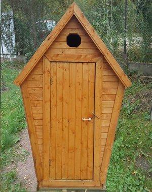Уличный туалет для дачи
