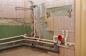 Сколько стоит замена сантехники в туалете и ванной глубокий отражатель для смесителя купить