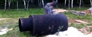 Изготовление кессона из металла