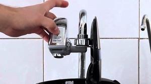 Смеситель с датчиком подачи воды