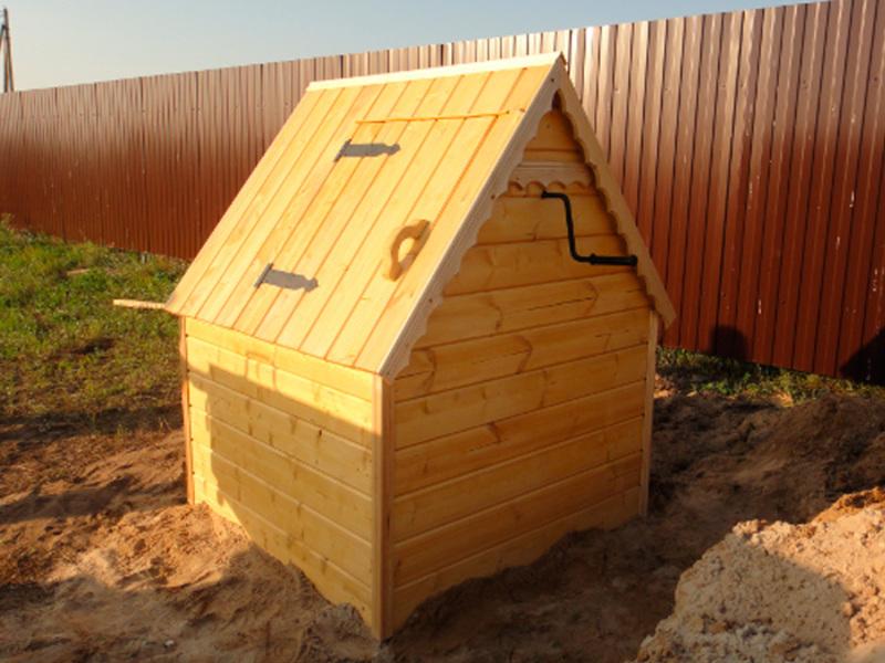 Построить крышу колодца своими руками