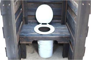 Уличный туалет без ямы