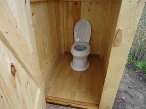 Как сделать в туалете стульчак 689
