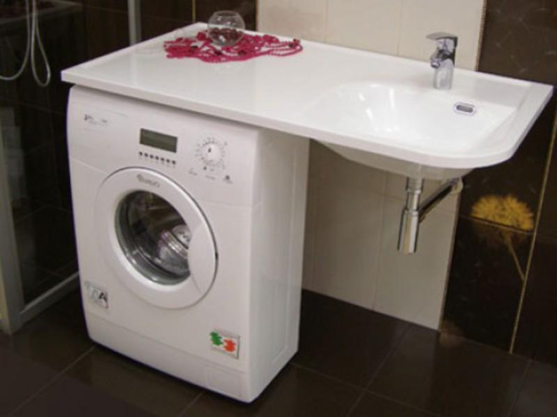 Раковины над стиральной машиной