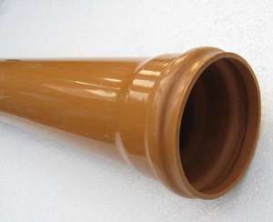 Канализационные трубы пвх для наружной канализации размеры