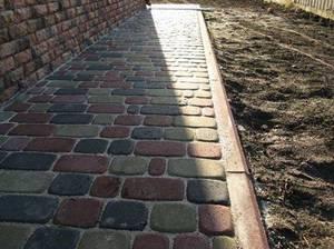 Тротуарная плитка для отмостки