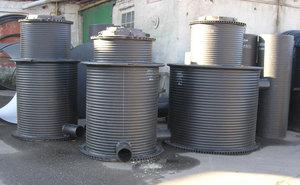 Пластиковые канализационные колодцы