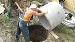 Как сделать бетонные кольца